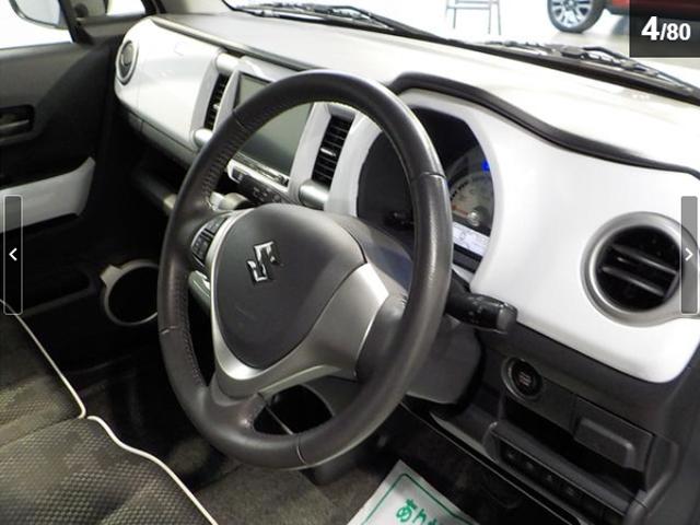スズキ ハスラー X ワンオーナー ケンウッド製8インチSDナビ